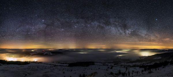 Nachthimmel der Rhön von Fotograf Sören Seidel
