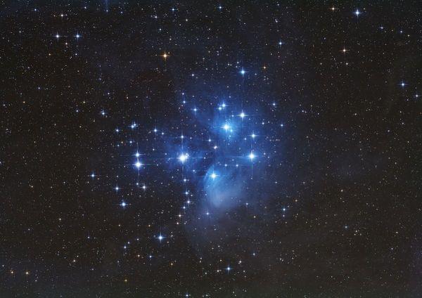 Nachthimmel der Rhön von Fotograf Werner Klug