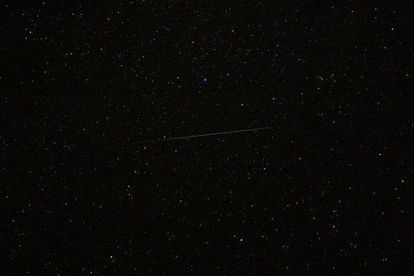 Sternschnuppe der Perseiden von Fotograf Dr. Andreas Hänel