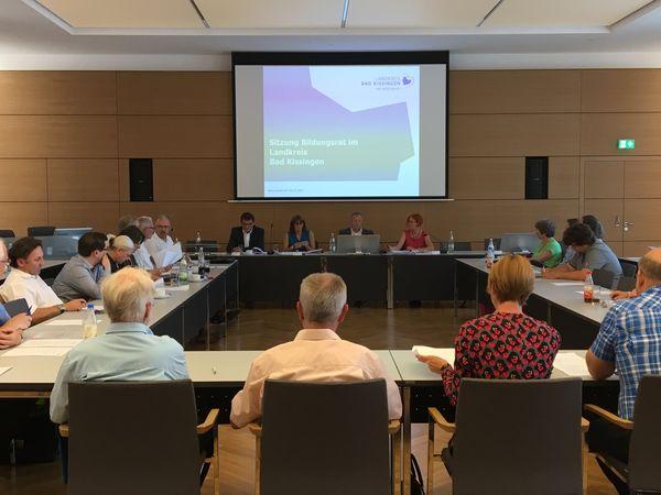 2. Sitzung des Bildungsrats - Foto: Anke Barthel