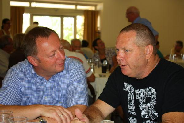 Die Landräte Thomas Bold und Don Litvinoff (2)