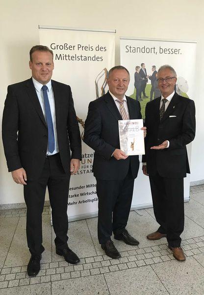 Pressefoto - Wirtschaftsförderung des Lkr. KG erreicht Jurystufe