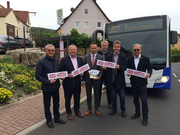 Pressebild Start Freizeitbuslinien