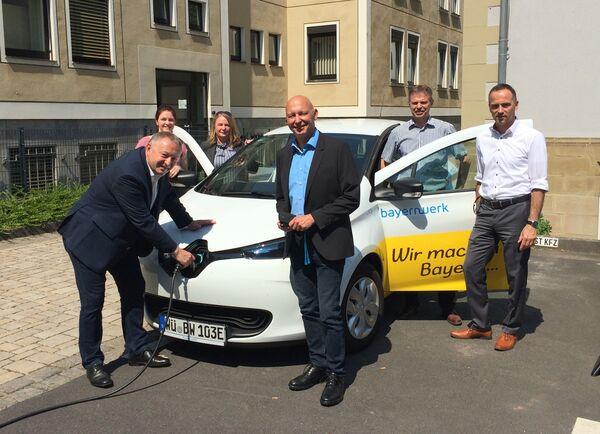 Presse Übergabe Renault Zoe - Lena Pfister