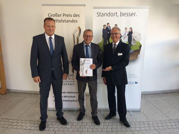 020719 - Urkundenübergabe Großer Preis des Mittelstandes - Pressefoto1