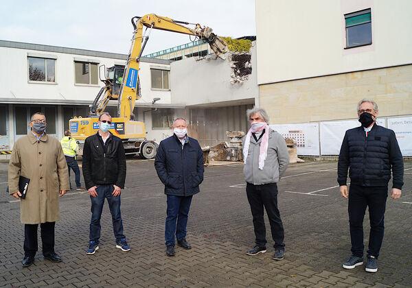 Generalsanierung Telekom-Gebäude