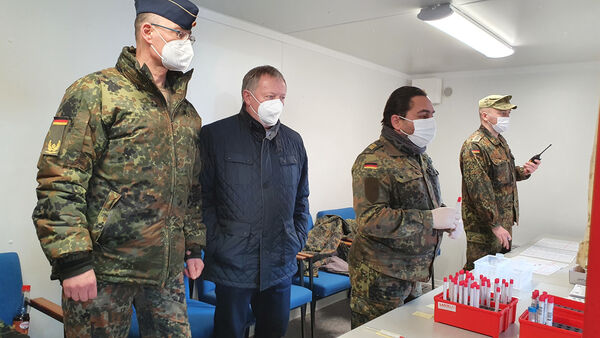 Besuch Brigadegeneral