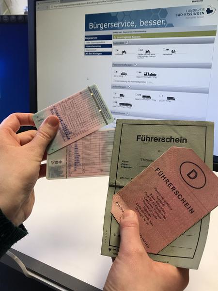 Führerschein online beantragen