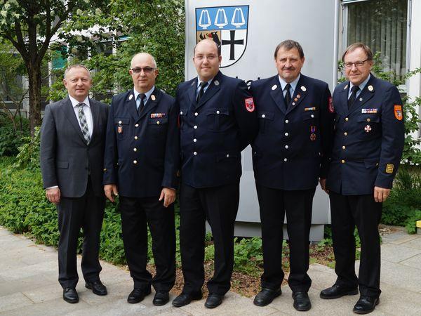 Ernennung Kreisbrandinspektor und Kreisbrandmeister