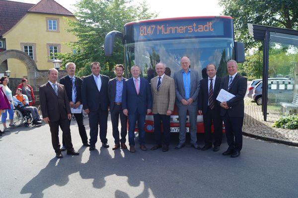 Buslinien Maria Bildhausen 1