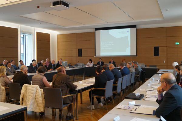 1. Sitzung Bildungsrat - Pressefoto