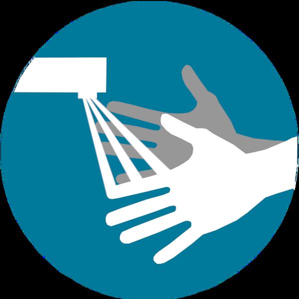 Piktogramm Händewaschen