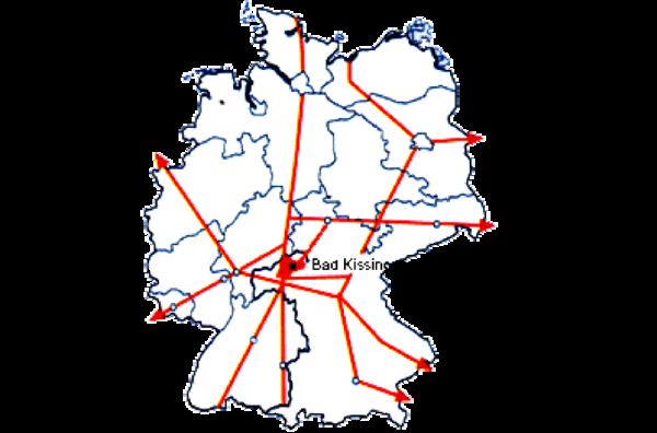 Karte BRD263x174