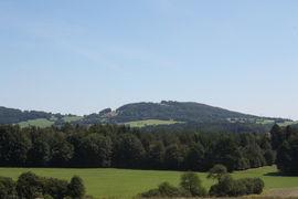 Blick in die Rhöner Berglandschaft